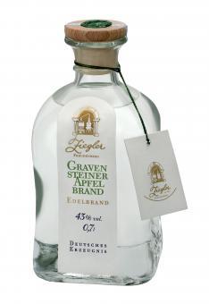 Ziegler Gravensteiner Apfelschnaps 43%vol, 0,7l