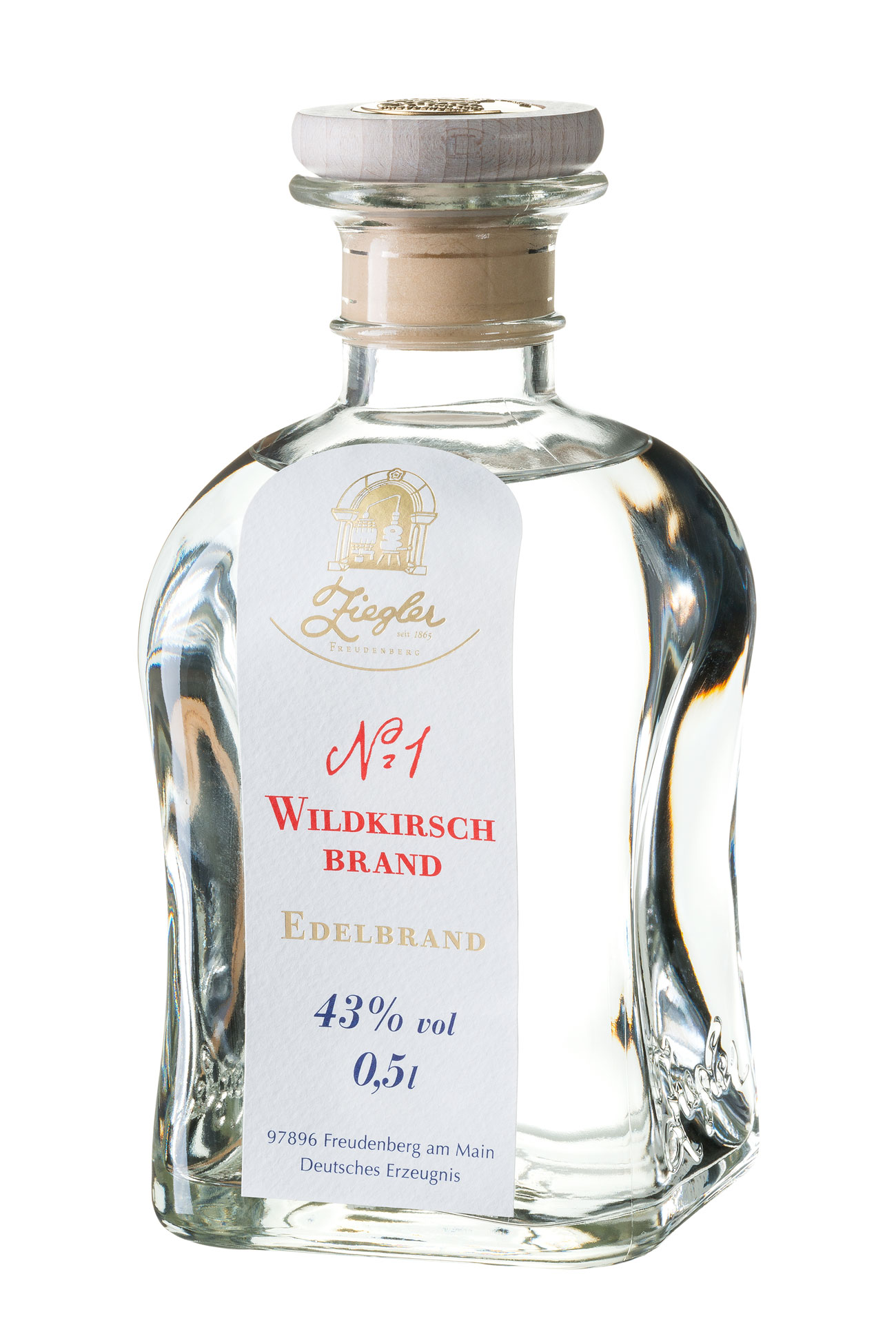 schnaps shop wildkirsch nr 1 0 5 ltr ziegler schnaps g nstig kaufen. Black Bedroom Furniture Sets. Home Design Ideas